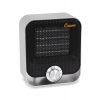 Black Aluminum Personal Ceramic Heater